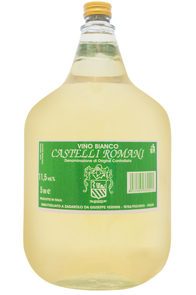 Vino Bianco Castelli Romani Giuseppe Vernini (Dama)