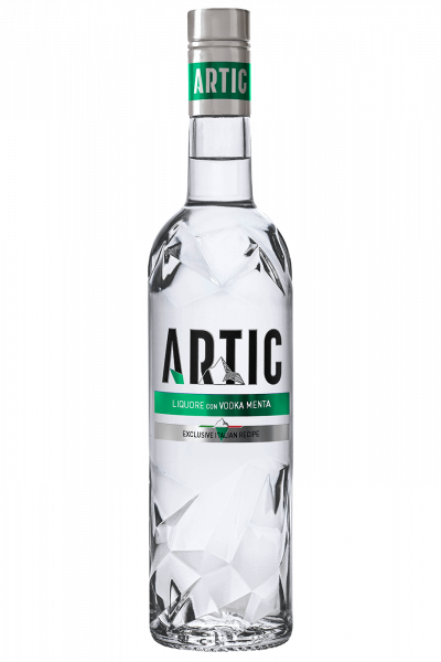 Vodka Artic Menta Verde 70cl
