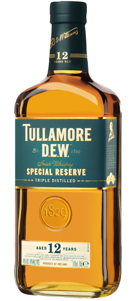 Tullamore D.E.W. Aged 12 Years Irish Whiskey Special Reserve 70cl