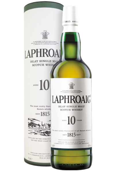 Laphroaig 10 Anni Islay Single Malt Scotch Whisky 70cl (Astucciato)