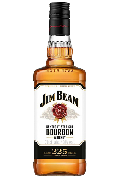 Jim Beam Bourbon White Label 1Litro