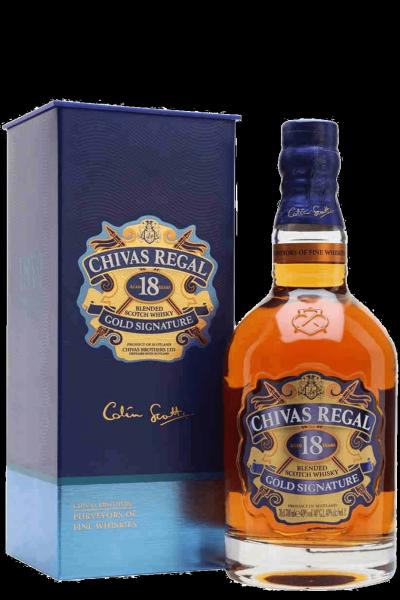 Chivas Regal Gold Signature 18 Anni Blended Scotch Whisky 70cl (Astucciato)