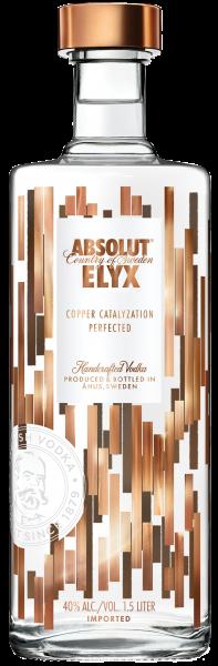 Vodka Absolut Elyx 1,5 Litri (Magnum)