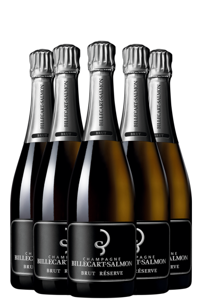 6 Bottiglie Brut Réserve Billecart-Salmon 75cl