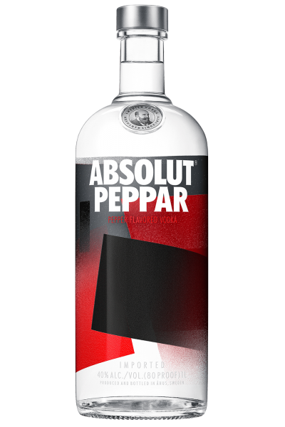 Vodka Absolut Peppar 1Litro