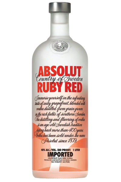 Vodka Absolut Ruby Red 1Litro