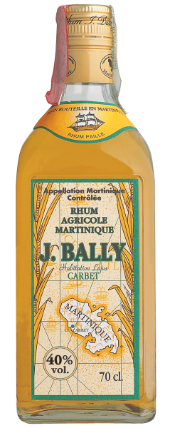 Rum Paille Agricole J.Bally Martinica 70cl