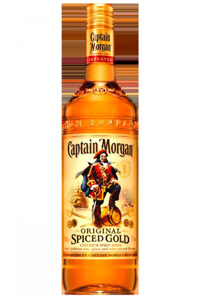 Rum Original Spiced Gold Captain Morgan 1Litro