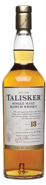 Talisker 18 Years Single Malt Scotch Whisky 70cl