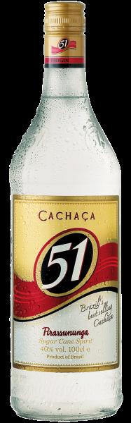 Cachaça 51 Pirassununga 1Litro