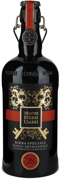Mastri Birrai Umbri Selezione 28 Birra Speciale Rossa Artigianale 75cl