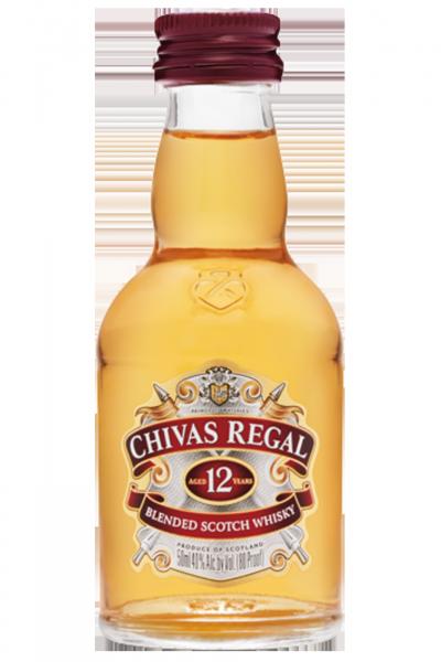 Mignon Chivas Regal Blended Scotch Whisky 12 Anni 5cl