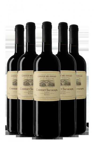 6 Bottiglie Cabernet Sauvignon 2017 Casale Del Giglio