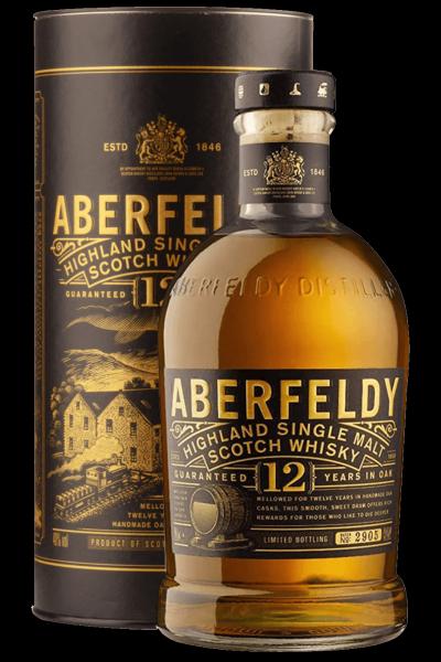 Aberfeldy 12 Anni Highlands Single Malt Scotch Whisky 70cl (Astucciato)
