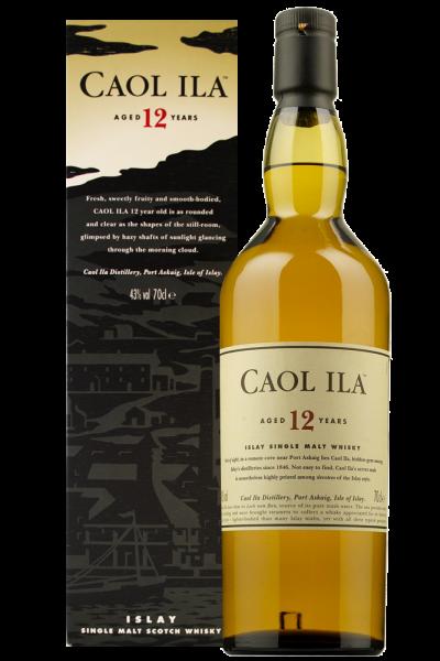 Caol Ila 12 Years Old Islay Single Malt Scotch Whisky 70cl (Astucciato)