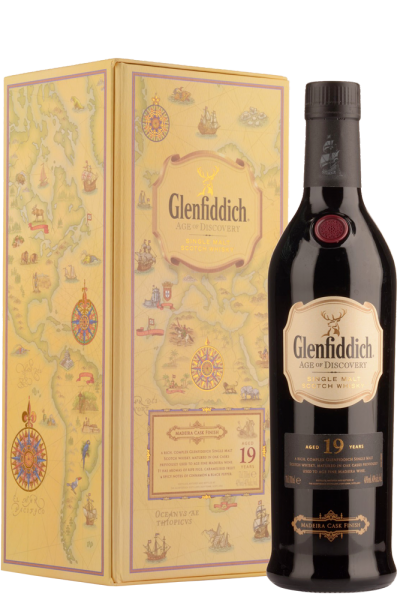 Glenfiddich Age Of Discovery 19 Years Old Single Malt Scotch Whisky 70cl