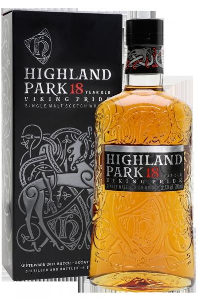 Highland Park Aged 18 Years Single Malt Scotch Whisky 70cl