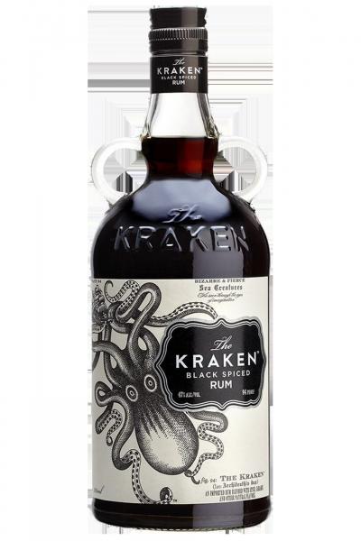 Rum The Kraken Black Spiced 70cl