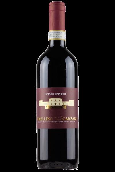 Mezza Bottiglia Morellino Di Scansano DOCG 2015 Fattoria Le Pupille 375ml