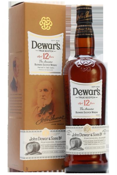 Dewar's 12 Anni Blended Scotch Whisky 70cl