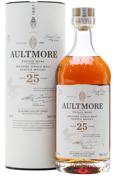 Aultmore 25 Anni Single Malt Scotch Whisky 70cl