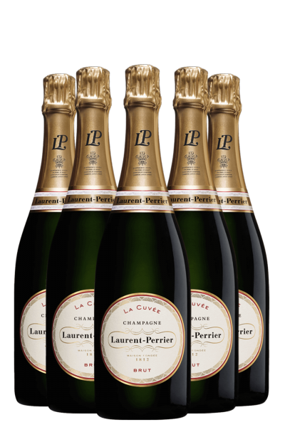 6 Bottiglie Laurent-Perrier Brut La Cuvée 75cl