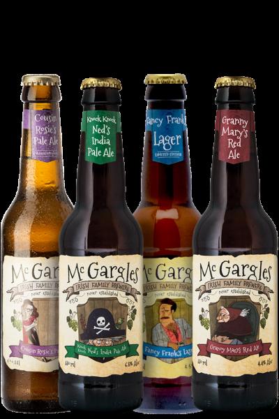 Mc Gargles Cassa Mista Da 24 Bottiglie x 330ml