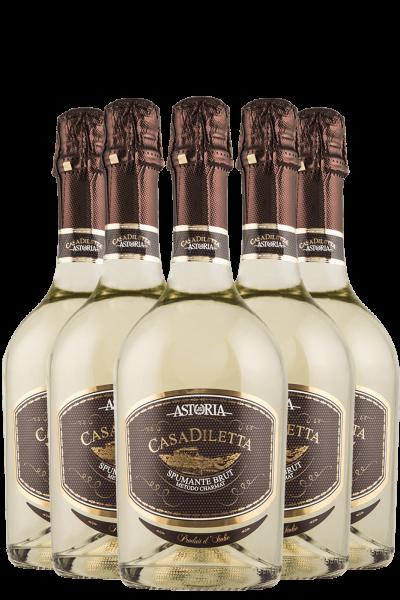6 Bottiglie Casa Diletta Brut Astoria