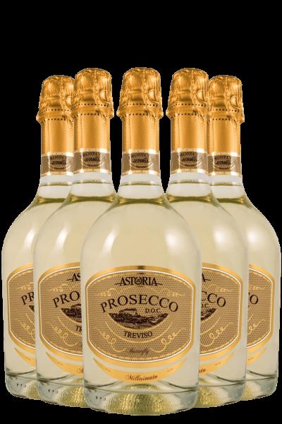 6 Bottiglie Prosecco DOC Treviso Butterfly 2020 Astoria