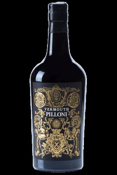 Vermouth Pilloni Silvio Carta 70cl + 2 Bicchieri
