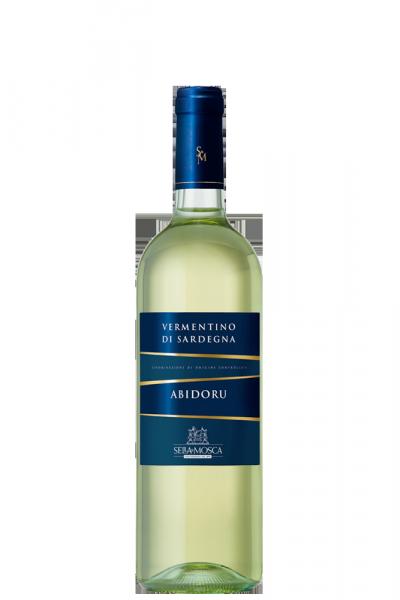 Mezza Bottiglia Vermentino Di Sardegna DOC Abidoru 2016 Sella & Mosca 375ml