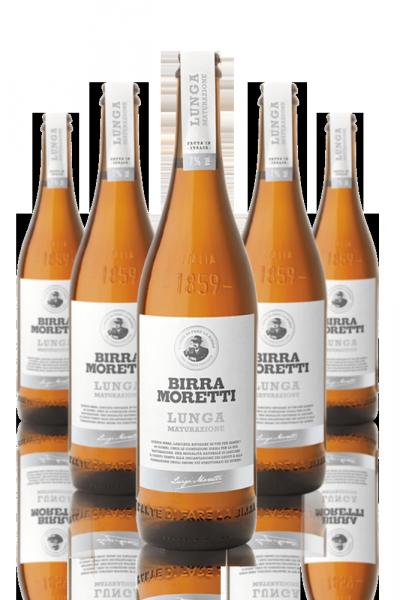 Birra Moretti Lunga Maturazione Cassa Da 15 bottiglie x 50cl