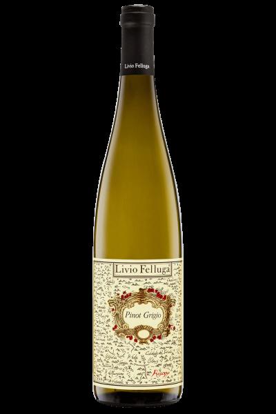 Mezza Bottiglia Colli Orientali del Friuli DOC Pinot Grigio 2019 Livio Felluga 375ml