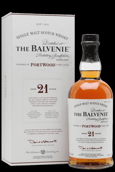 Balvenie 21 Years Portwood Finish Single Malt Scotch Whisky 70cl