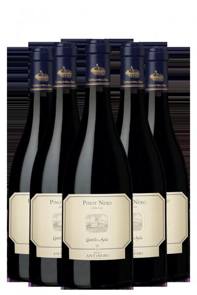 6 Bottiglie Pinot Nero 2017 Castello della Sala