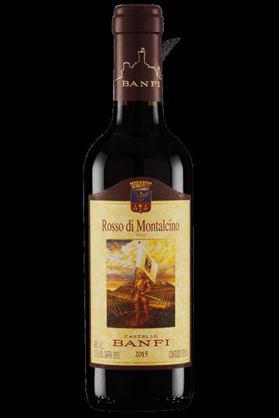Mezza Bottiglia Rosso Di Montalcino DOC 2018 Banfi 375ml