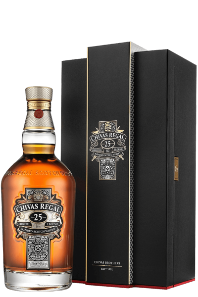 Chivas Regal Blended Scotch Whisky 25 Y.O. 70cl