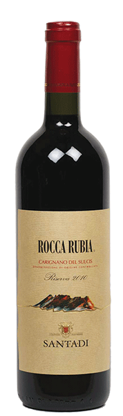Carignano Del Sulcis DOC Rocca Rubia Riserva 2014 Cantina Santadi
