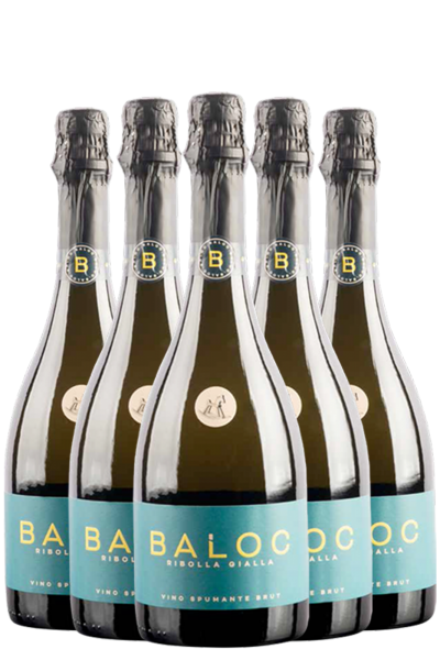 6 Bottiglie Ribolla Gialla Brut 2016 Baloc