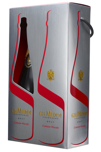 Champagne Cordon Rouge Brut Mumm Bipack