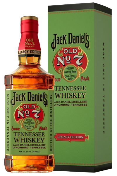 Jack Daniel's Old N.7 Legacy Edition 70cl (Astucciato)