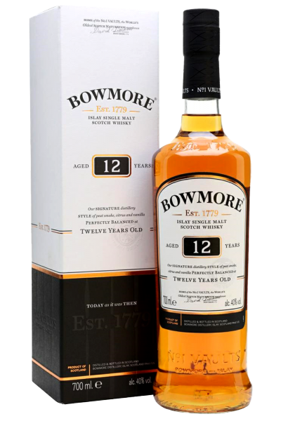 Bowmore Islay Single Malt Scotch Whisky 12 Y.O. 70cl  (Astucciato)