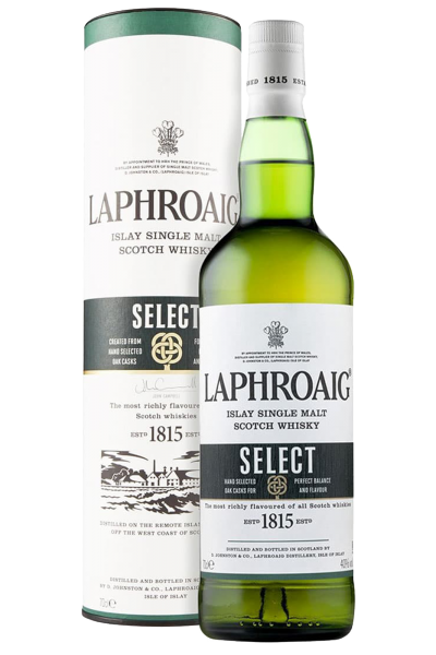Laphroaig Select Islay Single Malt Scotch Whisky 70cl (Astucciato)