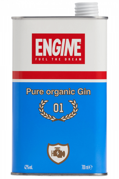Pure Organic Gin Engine 50cl