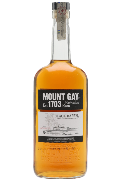 Rum Mount Gay Black Barrel 70cl (Cassetta In Legno)