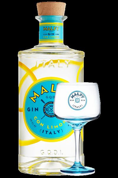 Gin Malfy Limone 70cl + 1 Bicchiere OMAGGIO