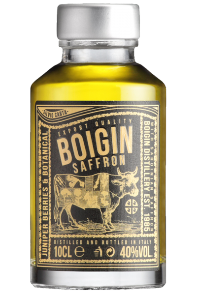 Mignon Gin Boigin Saffron Silvio Carta 10cl