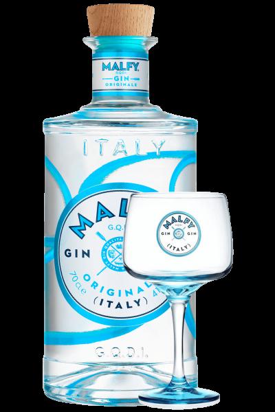 Gin Malfy Originale 70cl + 1 Bicchiere OMAGGIO