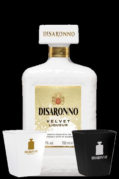 Disaronno Velvet 70cl + 2 Bicchieri Velvet OMAGGIO