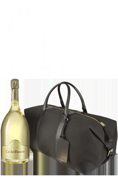 Franciacorta DOCG Cuvée Prestige Ca' Del Bosco 3Litri (Jéroboam) + Weekend Bag